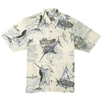 Guy Harvey Santiago's Big Blue Buttondown Shirt
