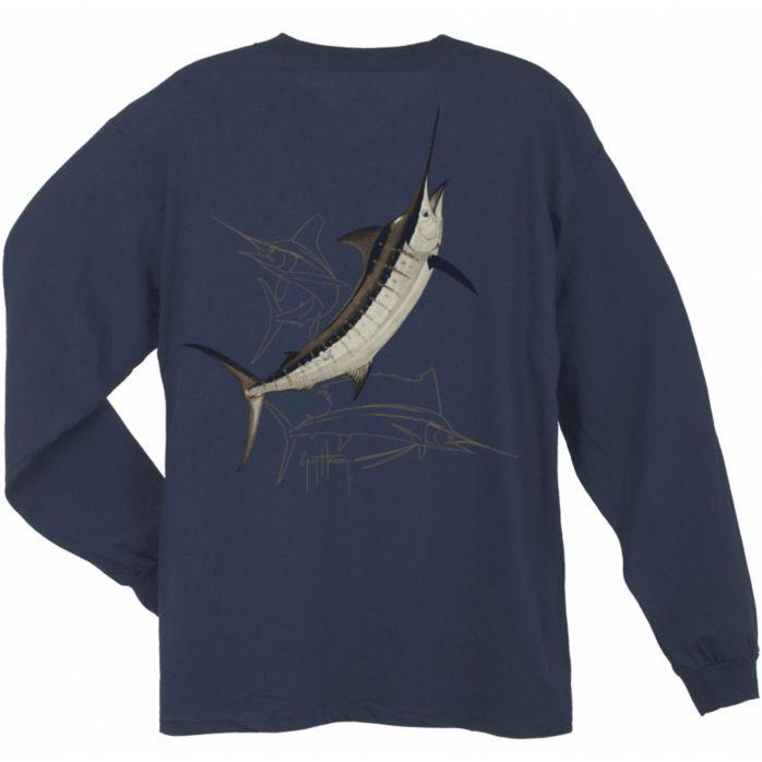 Guy Harvey Billfish Slam Long Sleeve Shirt