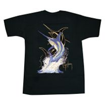 Guy Harvey Swordfish Strike T-Shirt