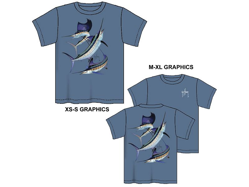 Guy Harvey Grand Slam Youth T-Shirt