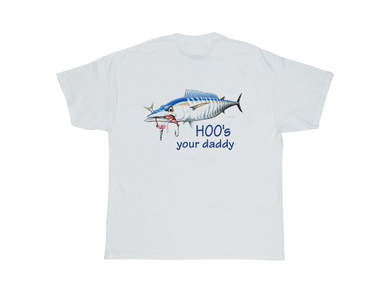 AFTCO Bluewater Wear Hoo's Your Daddy T-Shirt