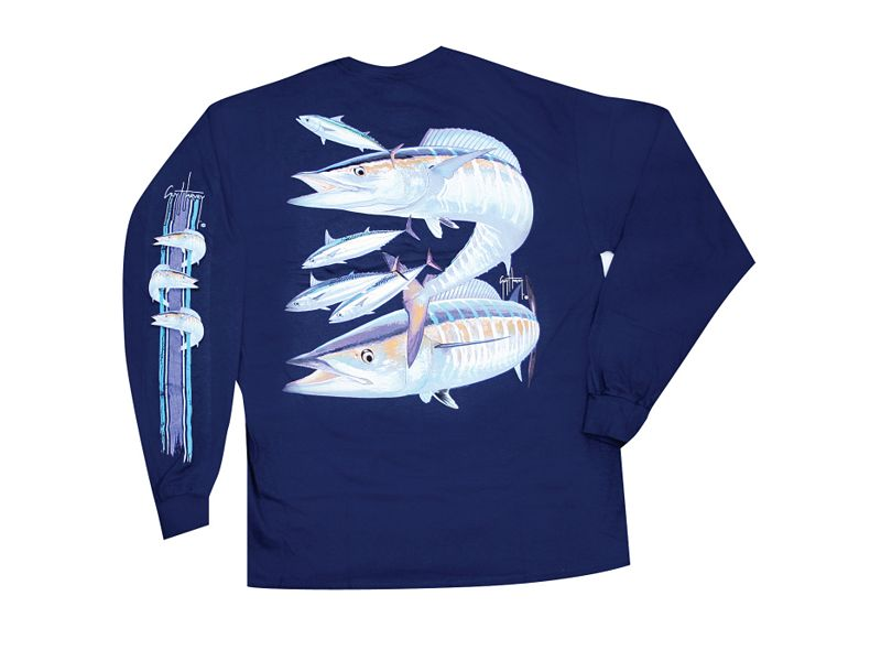 Guy Harvey Wahoo Long Sleeve Shirt