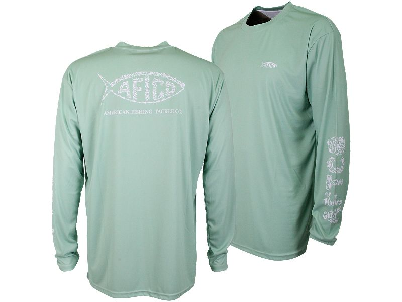 AFTCO Cipher Long Sleeve Sun Shirt