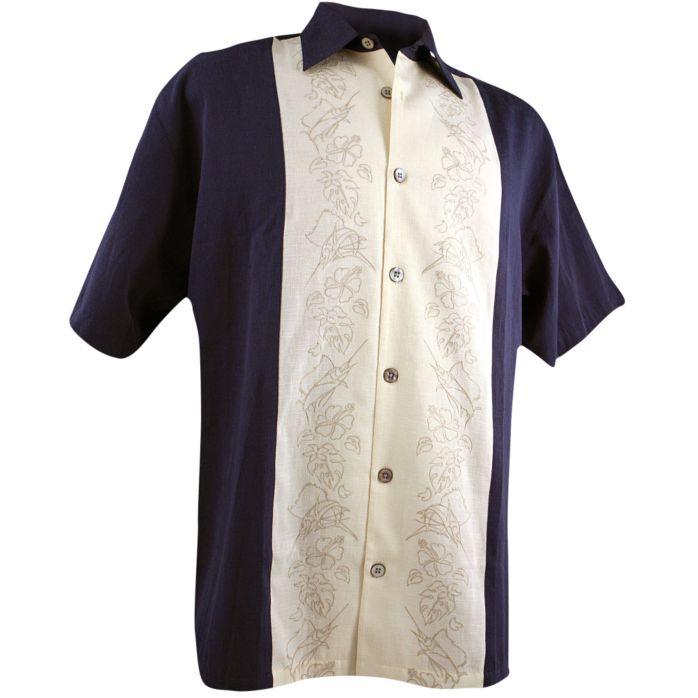 Sailfish Panel Buttondown Shirt