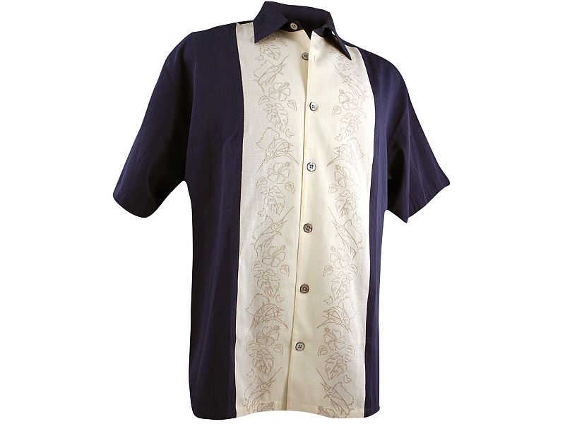 Guy Harvey Sailfish Panel Buttondown Shirt