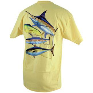 Guy Harvey Foursome T-Shirt