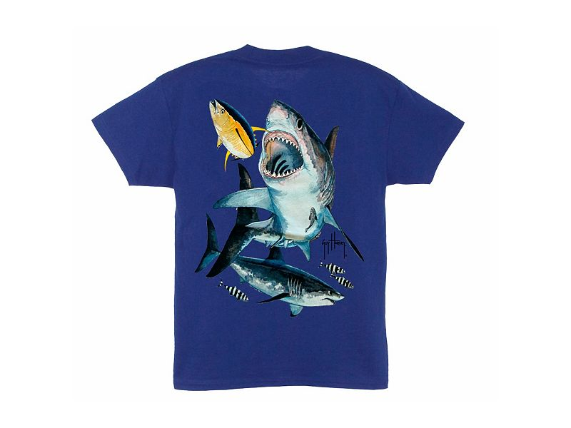 Guy Harvey Great White Youth T-Shirt