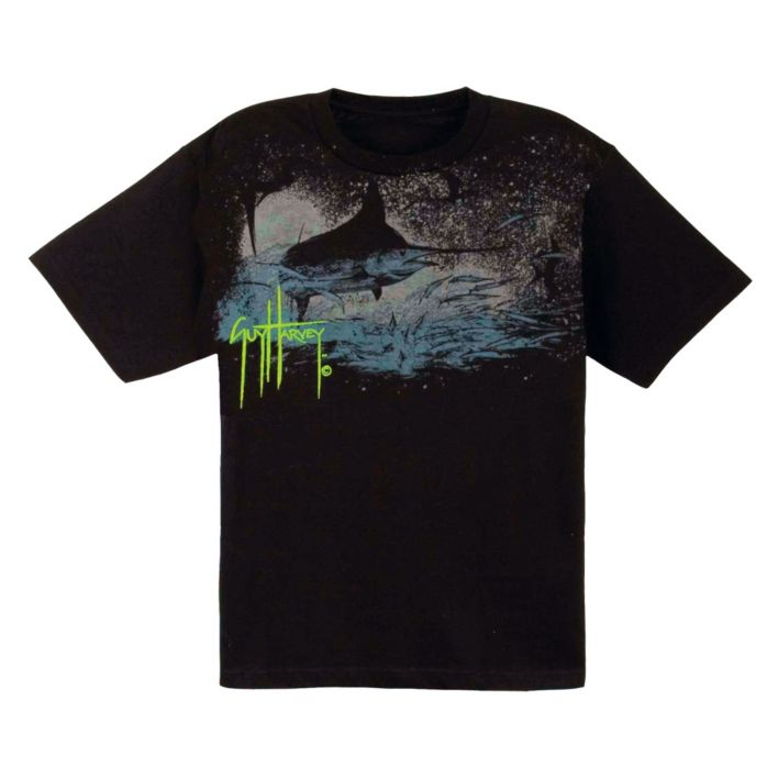 Guy Harvey Marlin Shadow Premium Youth T-Shirt