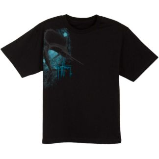Guy Harvey Sailfish Etching Premium Youth T-Shirt