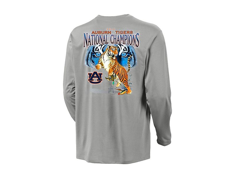 Guy Harvey Auburn University Collegiate Championship Long Sleeve Shirt
