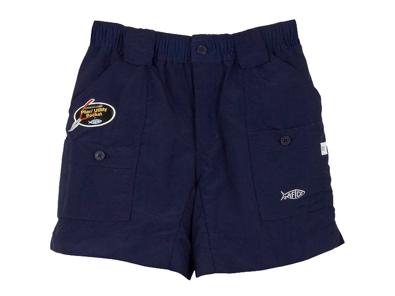 AFTCO Bluewater M01 Traditional Boys Fishing Shorts