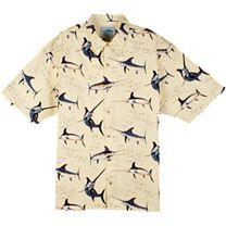 Guy Harvey Swordfish Alley Buttondown Shirt