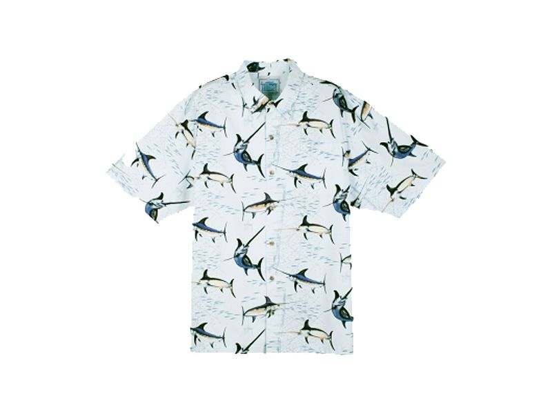 Guy Harvey Swordfish Alley Buttondown Shirt