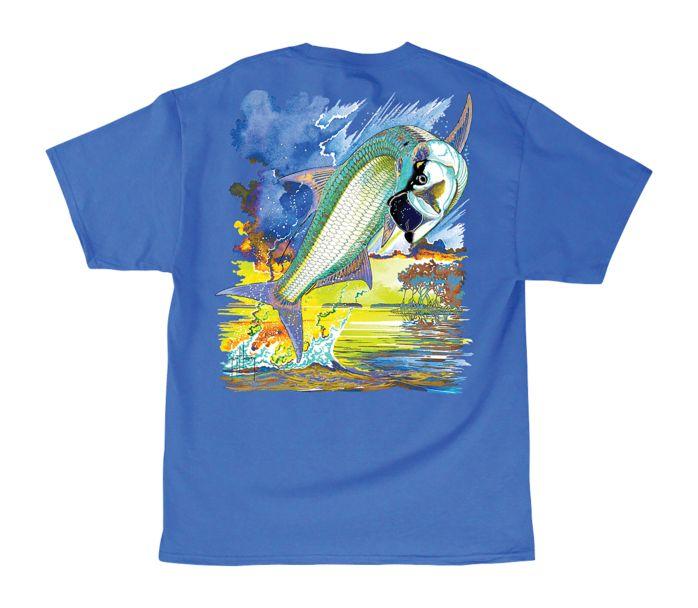 Guy Harvey Tarponator T Shirt