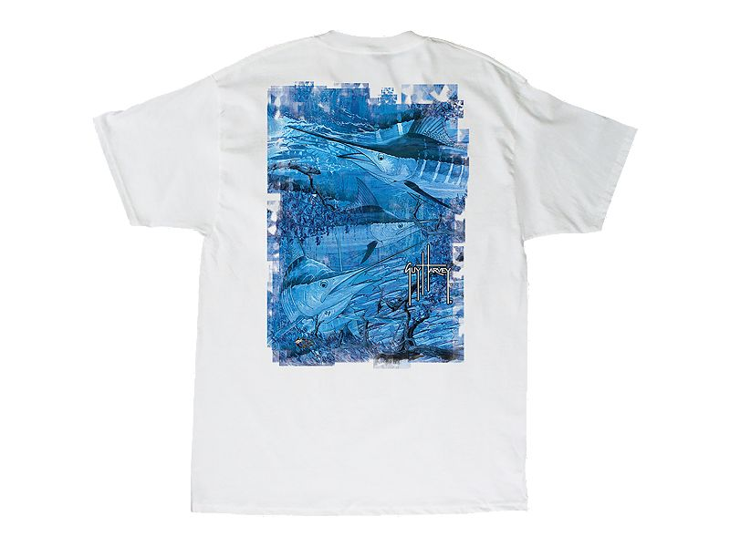 Guy Harvey Marlin Camo T-Shirt