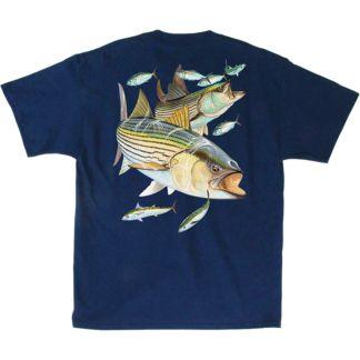 Guy Harvey Striper Snacks T-Shirt