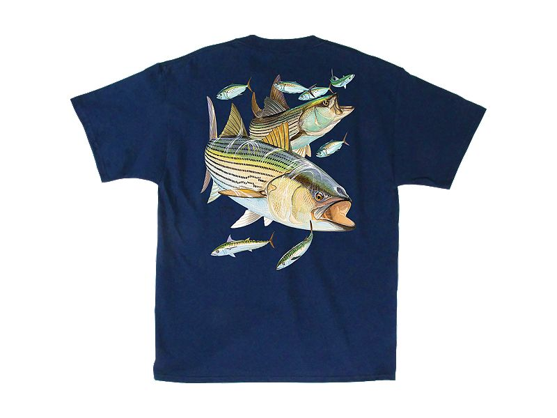 Guy Harvey Striper Snacks T-Shirt