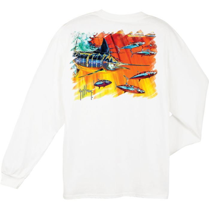 Guy Harvey Hydro Long Sleeve Shirt