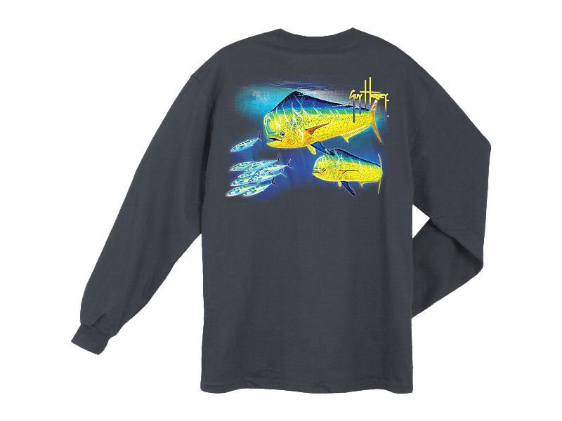 Guy Harvey Double DoDo Long Sleeve Shirt