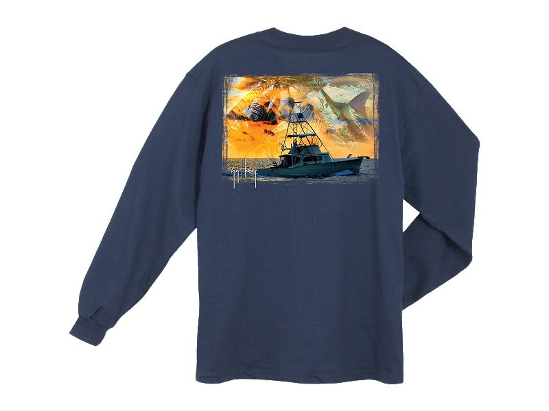 Guy Harvey Cruisin' Long Sleeve Shirt