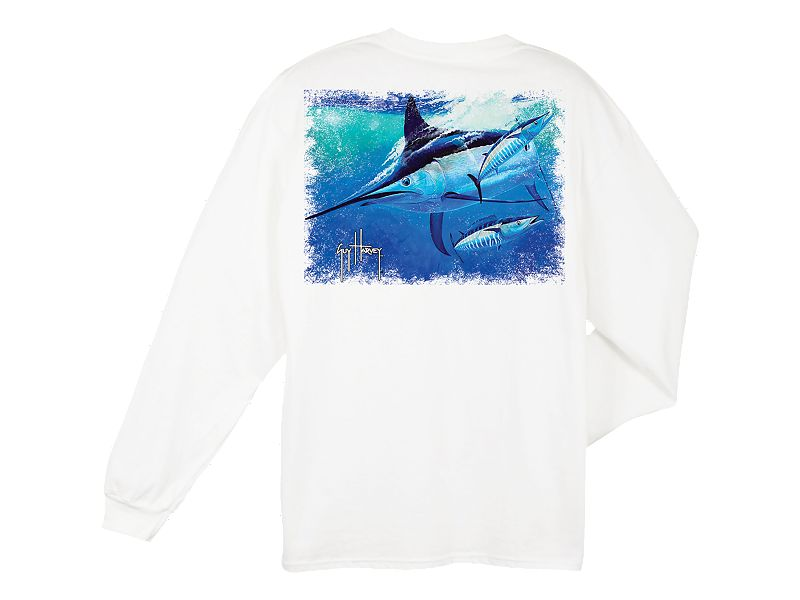 Guy Harvey Hoodat Long Sleeve Shirt
