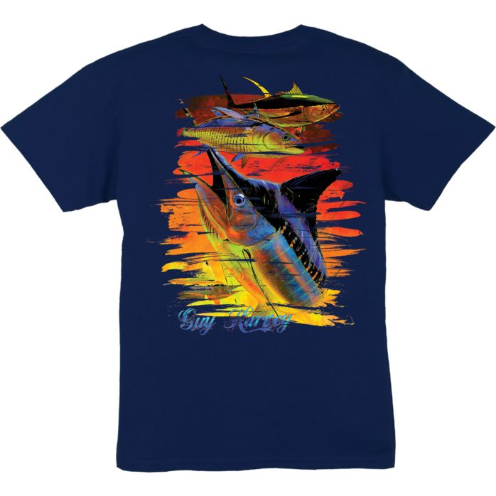 Guy Harvey Chainsaw Boys T-Shirt