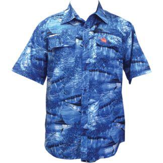 Guy Harvey Legend Camo Buttondown Shirt