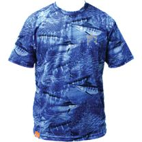 Guy Harvey Legend Boys Camo Performance T-Shirt