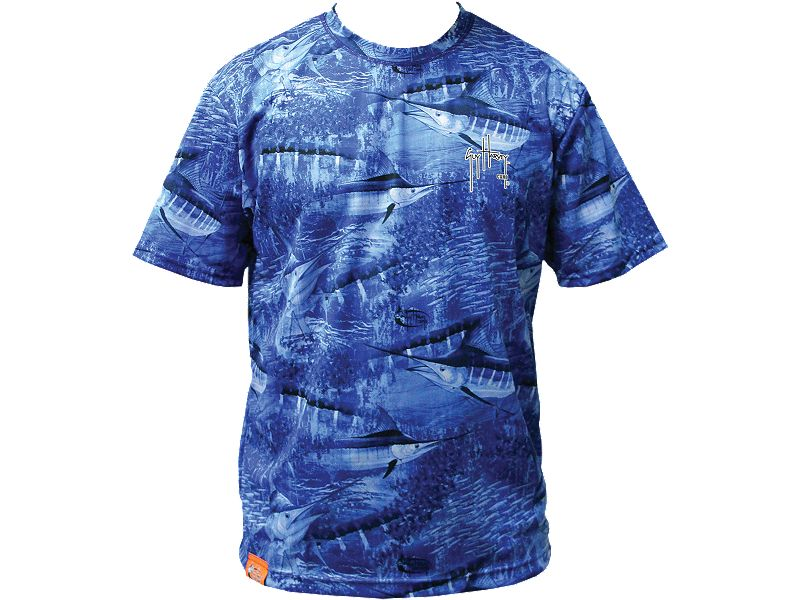 Guy Harvey Legend Camo Performance T-Shirt