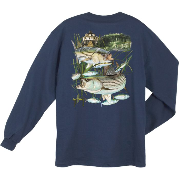 Guy Harvey Linesiders Long Sleeve Shirt