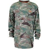 AFTCO Castor Youth Long Sleeve Sun Shirt