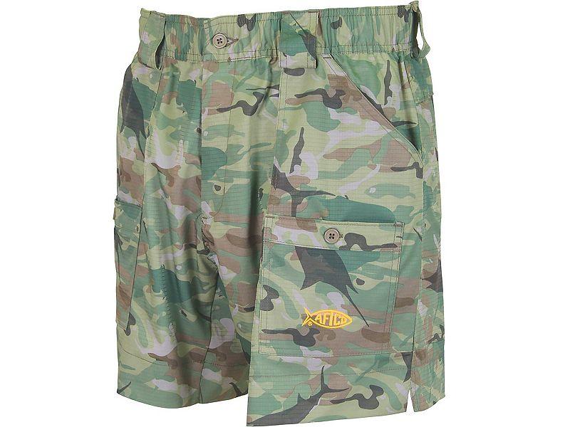 Aftco me2 camo original fishing shorts melton for Aftco original fishing shorts