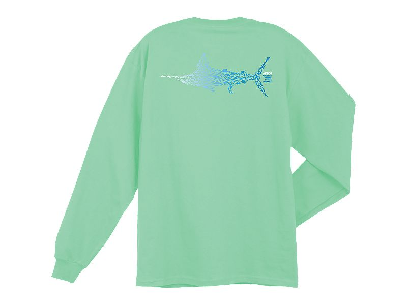 AFTCO Marlin Puzzle Pocket Long Sleeve Shirt