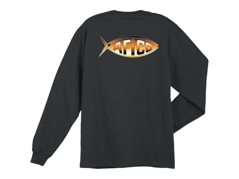 AFTCO Drum Pocket Long Sleeve Shirt
