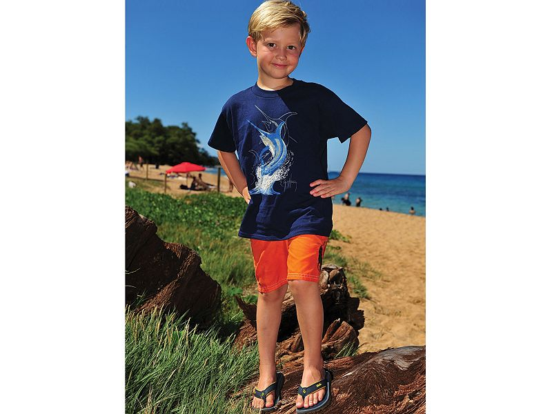 Guy Harvey Swordfish Strike Youth T-Shirt
