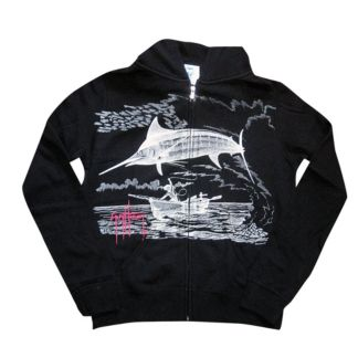 Marlin Go Over Zip Hoody