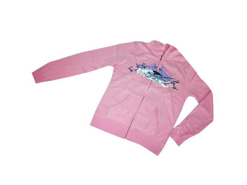 Guy Harvey White Fire Zip Hoody
