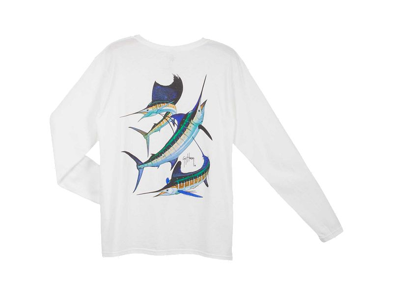 Guy Harvey Grand Slam Ladies Long Sleeve Shirt
