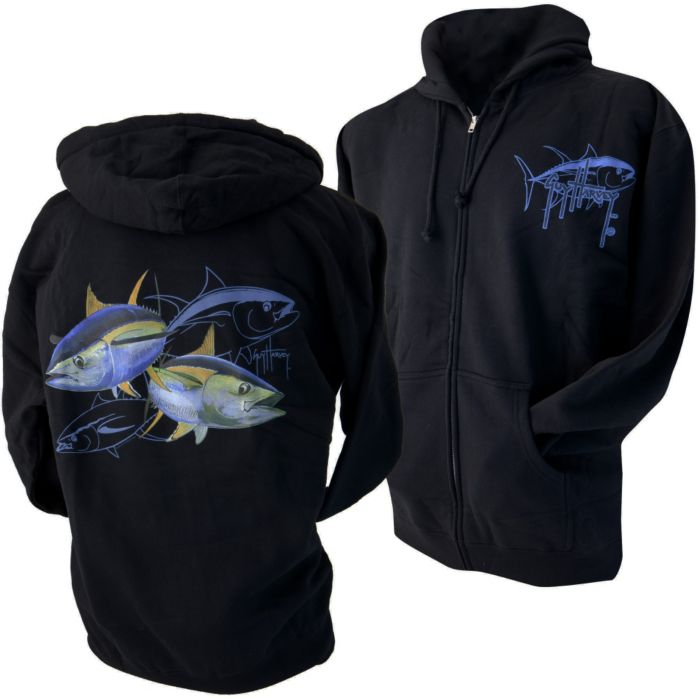 Guy Harvey Tuna Dash Hoody