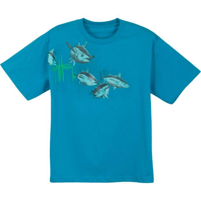 Guy Harvey Tuna Flight Premium Youth T-Shirt