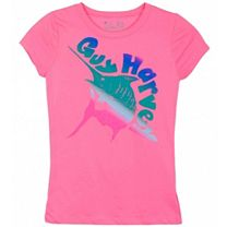 Guy Harvey Ombre Marlin Girls T-Shirt