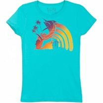Guy Harvey Bright Rainbow Girls T-Shirt