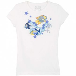 Guy Harvey F is for Fish Girls T-Shirt