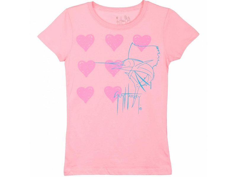 Guy Harvey I Love Guy Harvey Girls T-Shirt