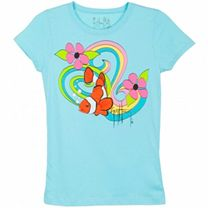 Guy Harvey Psycadelic Clown Girls T-Shirt