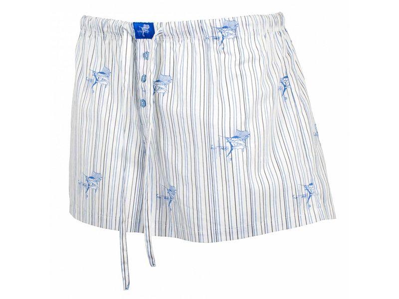 Guy Harvey Sailfish Signature Junior Dorm Shorts