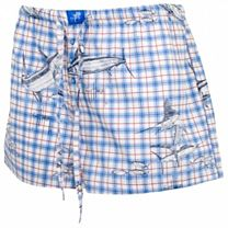 Guy Harvey Billfish Plaid Junior Dorm Shorts