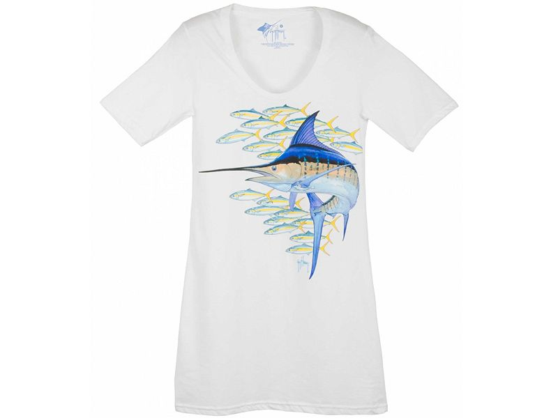 Guy Harvey Marlin & Runners Junior T-Shirt Dress