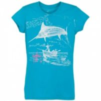 Guy Harvey Marlin Go Over Junior T-Shirt