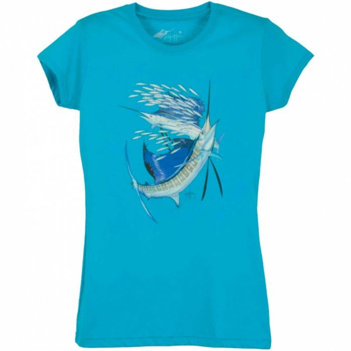 Guy Harvey Paisley Sails Junior T-Shirt
